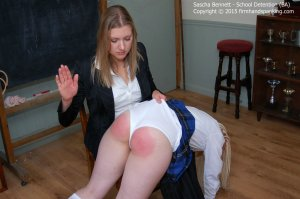 Firm Hand Spanking - School Detention - Da - image 16