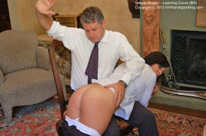 Firm Hand Spanking - The Learning Curve - Ba - image 6