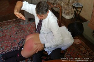 Firm Hand Spanking - The Learning Curve - Ba - image 7