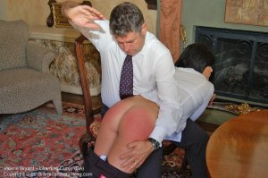 Firm Hand Spanking - The Learning Curve - Ba - image 3
