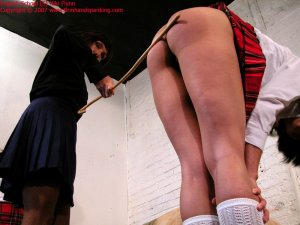 Firm Hand Spanking - 11.05.2007 - Bare Bottom Caning - image 1