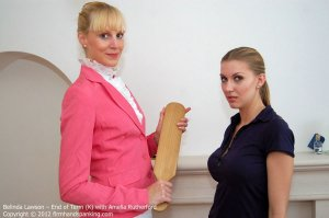 Firm Hand Spanking - End Of Term - K - image 1