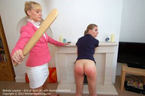 Firm Hand Spanking - End Of Term - K - image 2