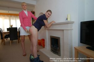 Firm Hand Spanking - End Of Term - K - image 8