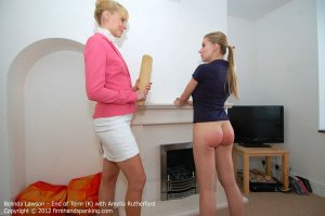 Firm Hand Spanking - End Of Term - K - image 17