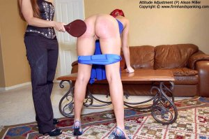 Firm Hand Spanking - Attitude Adjustment - P - image 16