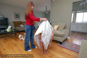 Firm Hand Spanking - Houseguest From Hell - M - image 13