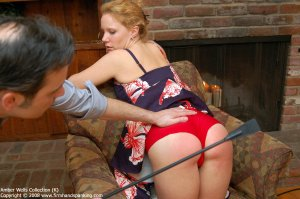 Firm Hand Spanking - Riding Crop Spanking - image 12