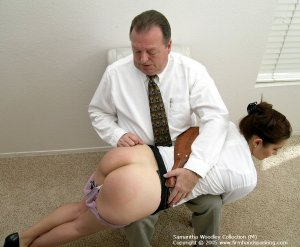 Firm Hand Spanking - 13.07.2005 - Bare Bottom Paddling - image 1