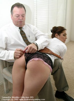 Firm Hand Spanking - 13.07.2005 - Bare Bottom Paddling - image 14
