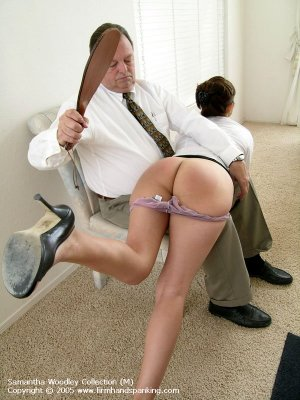 Firm Hand Spanking - 13.07.2005 - Bare Bottom Paddling - image 18