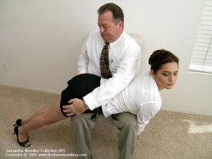 Firm Hand Spanking - 13.07.2005 - Bare Bottom Paddling - image 16