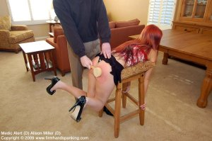 Firm Hand Spanking - Medic Alert - D - image 1