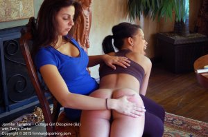 Firm Hand Spanking - College Girl Discipline - Bj - image 17
