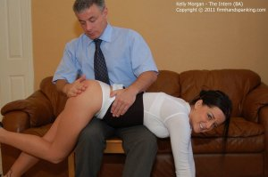 Firm Hand Spanking - The Intern - Ba - image 9