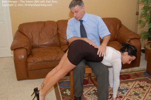 Firm Hand Spanking - The Intern - Ba - image 10