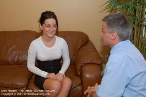 Firm Hand Spanking - The Intern - Ba - image 11
