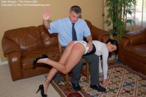 Firm Hand Spanking - The Intern - Ba - image 15