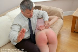 Firm Hand Spanking - Asking For It - Cb - image 7