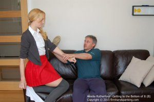 Firm Hand Spanking - Getting To The Bottom Of It - B - image 7