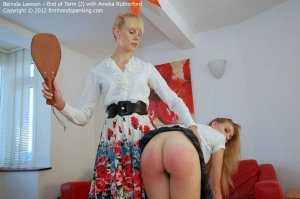 Firm Hand Spanking - End Of Term - J - image 2