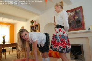 Firm Hand Spanking - End Of Term - J - image 6