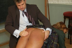 Firm Hand Spanking - School Detention - A - image 3