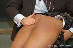 Firm Hand Spanking - School Detention - A - image 1