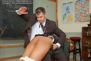 Firm Hand Spanking - School Detention - A - image 10