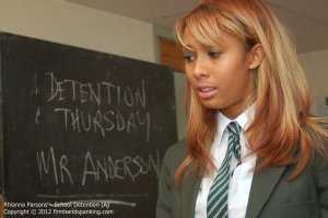 Firm Hand Spanking - School Detention - A - image 7