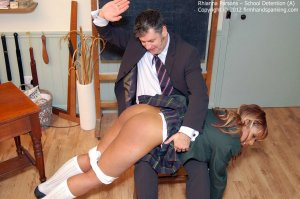 Firm Hand Spanking - School Detention - A - image 2