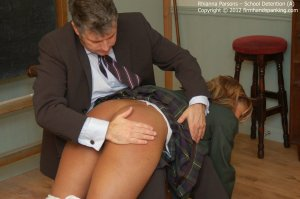 Firm Hand Spanking - School Detention - A - image 9