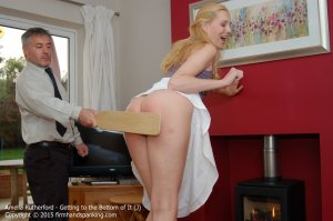 Firm Hand Spanking - Getting To The Bottom Of It - J - image 9