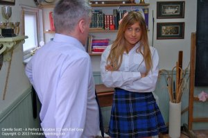 Firm Hand Spanking - A Perfect Education - C - image 2