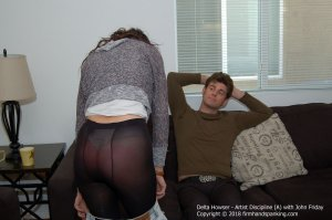 Firm Hand Spanking - Artist Discipline - A - image 3