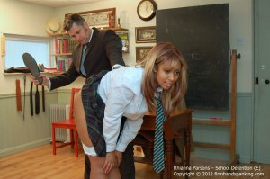 Firm Hand Spanking - School Detention - E - image 12