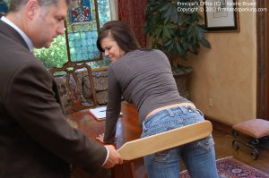 Firm Hand Spanking - The Principal's Office - C - image 3