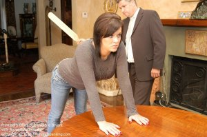 Firm Hand Spanking - The Principal's Office - C - image 2