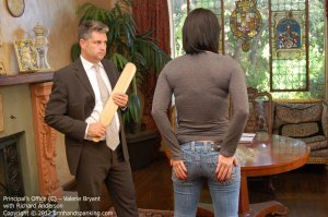 Firm Hand Spanking - The Principal's Office - C - image 6