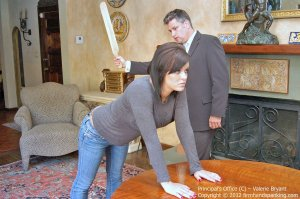 Firm Hand Spanking - The Principal's Office - C - image 18