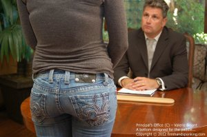 Firm Hand Spanking - The Principal's Office - C - image 9