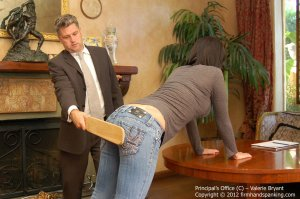Firm Hand Spanking - The Principal's Office - C - image 15