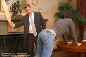 Firm Hand Spanking - The Principal's Office - C - image 7