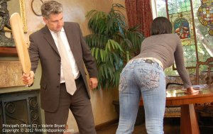 Firm Hand Spanking - The Principal's Office - C - image 16