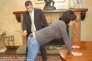 Firm Hand Spanking - The Principal's Office - C - image 17
