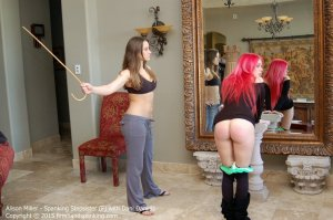 Firm Hand Spanking - Spanking Stepsister - F - image 3