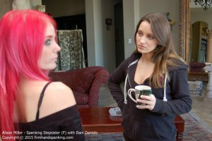 Firm Hand Spanking - Spanking Stepsister - F - image 4