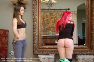 Firm Hand Spanking - Spanking Stepsister - F - image 12