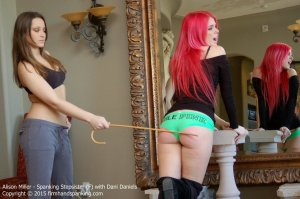 Firm Hand Spanking - Spanking Stepsister - F - image 13