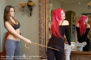 Firm Hand Spanking - Spanking Stepsister - F - image 11